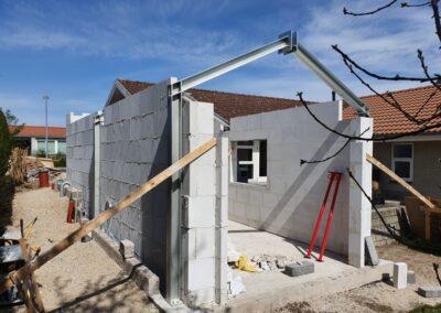 Rammekonstruktion tilbygning